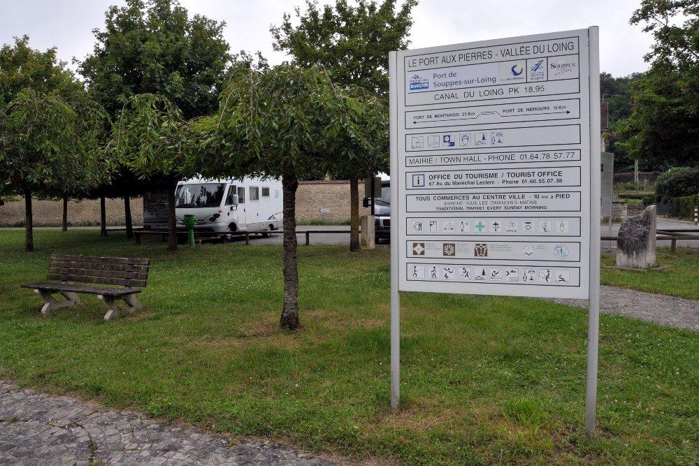 Aire camping-car à Souppes-sur-Loing (77460) - Photo 3
